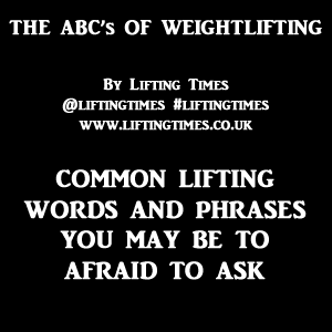 Weightlifting Words & Acronyms