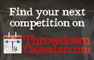 Throwdown Calendar